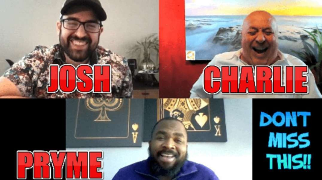 COME TO LIFE WITH PRYME MINISTER JOSH SWAGEL & CHARLIE WARD