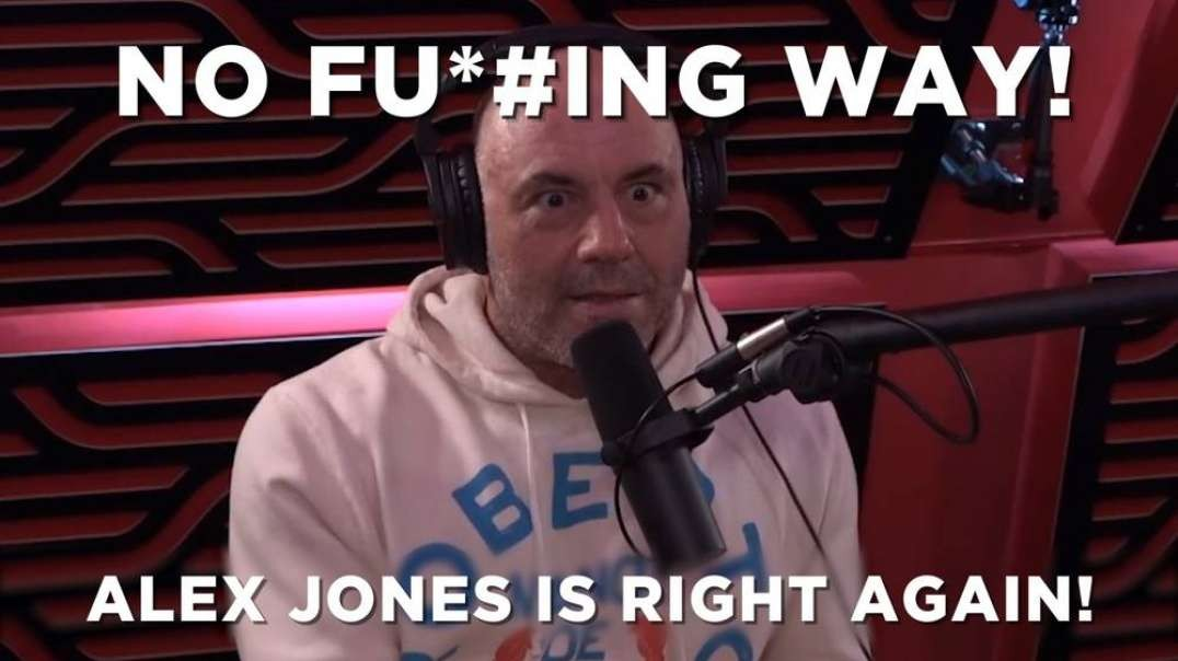 No Fu*#ing Way! Alex Jones is Right Again!