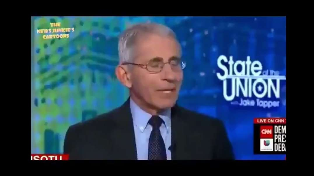 I HAVE NO SYMPTOMS, THERE'S NO REASON FOR ME TO TAKE A PCR TEST [2021-03-03] - DR. ANTHONY FAUCI (VIDEO)