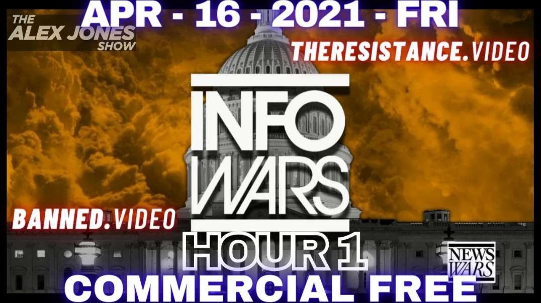 HR1: Tomorrow's News Today: Friday Live With Alex Jones