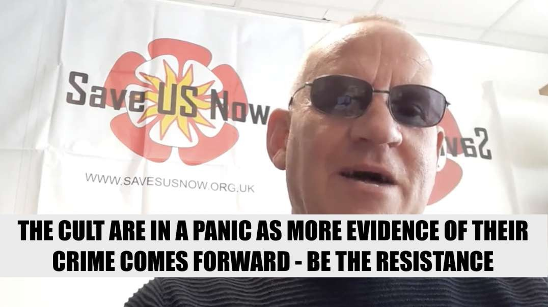 MARK STEELE - THE SATANIC CULT ARE IN A PANIC AS MORE EVIDENCE OF THEIR CRIME COMES FORWARD