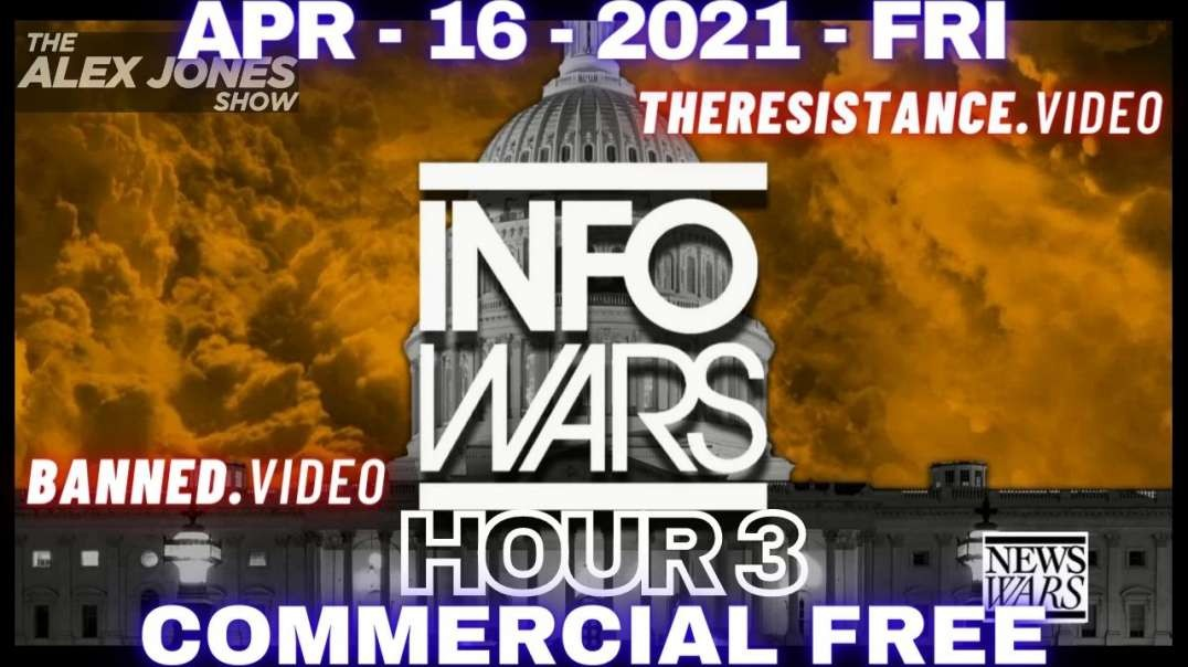 HR3: Tomorrow's News Today: Friday Live With Alex Jones