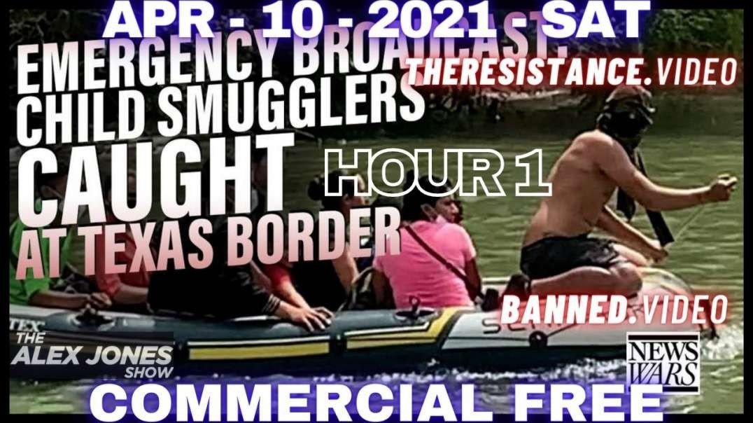 #AlexJonesShow HR1: Child Smugglers Caught At TX Border / Scientists Warn COVID-19 Is A Bioweapon