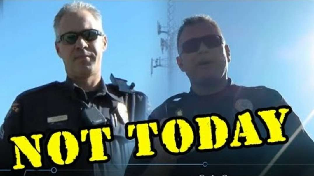 NOT TODAY! COLORADO COPS MESS WITH A GUY WHO WON'T BE BULLIED!! [2021-04-21] - BRIAN YOUNG (VIDEO)