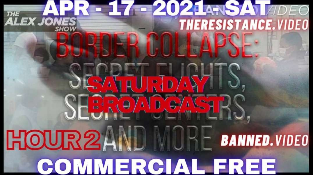 HR2: Emergency Saturday Broadcast: Reporters Discover Secret Flights, Secret Centers, and More