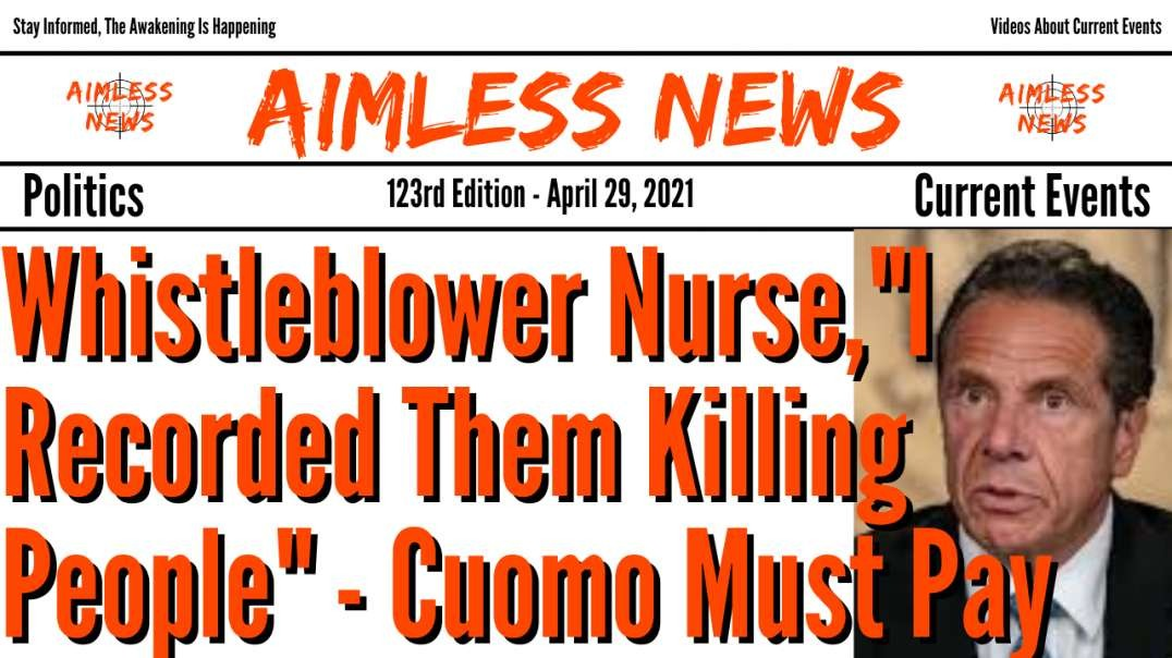 "Whistleblower Nurse, ""I Recorded Them Killing People"" - New York Killed People For Money"