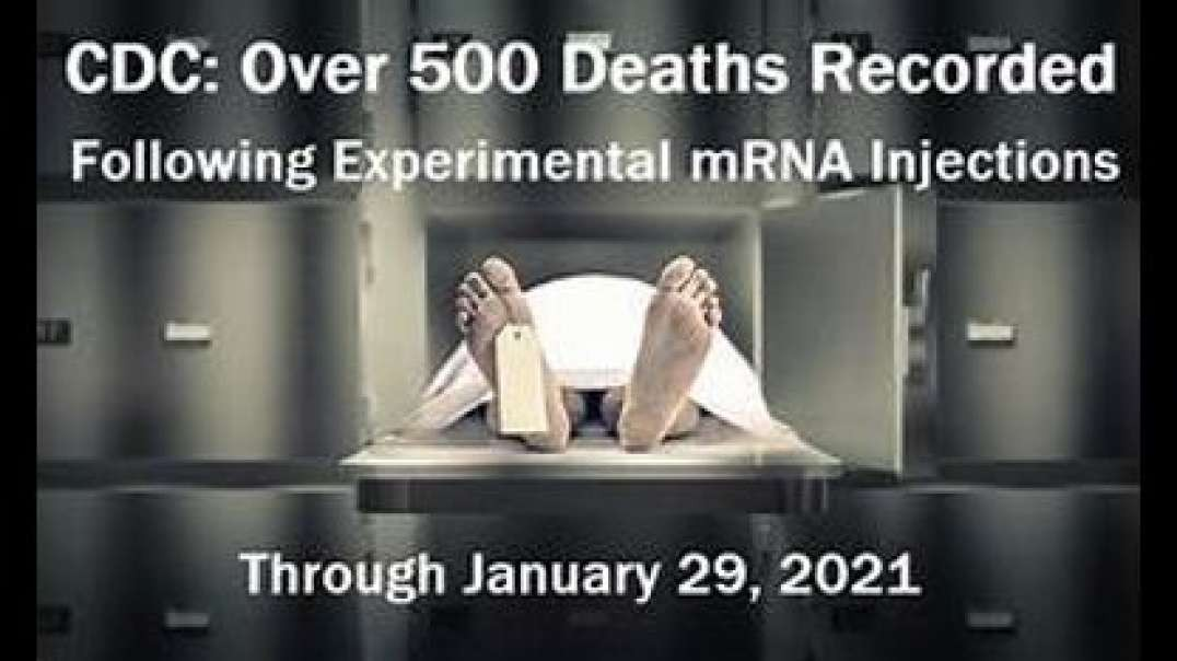LETHAL INJECTIONS, FIRST ROUND mRNA DEATHS, RIP TO THE VICTIMS OF COVID JABS [2021-04-10] - OTT TV (VIDEO)