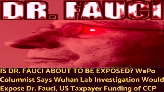 IS DR. FAUCI ABOUT TO BE EXPOSED?