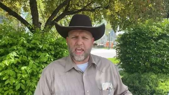 Ammon Bundy 6th time in jail for going to the capitol building but I feel very protected