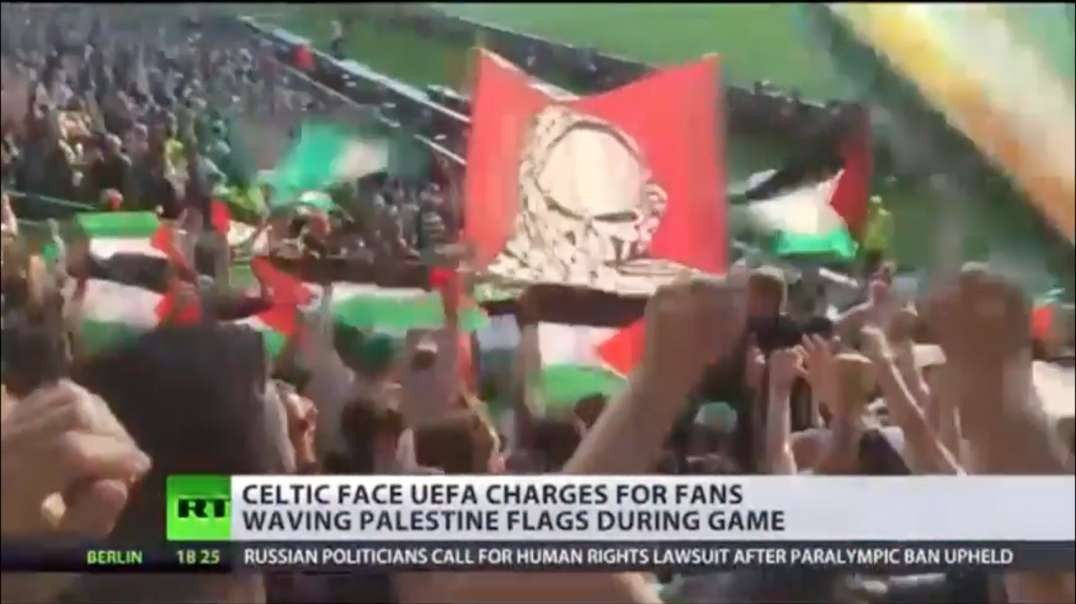 Celtic Green Brigade Palestine Tribute. Hope for Humanity. What MSM Won't Report