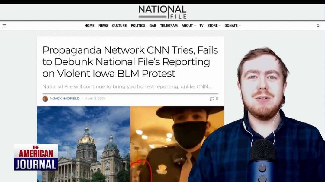 CNN Botches Violent BLM Protest Fact Check On Same Day Project Veritas Exposes Their Anti-Trump Propaganda