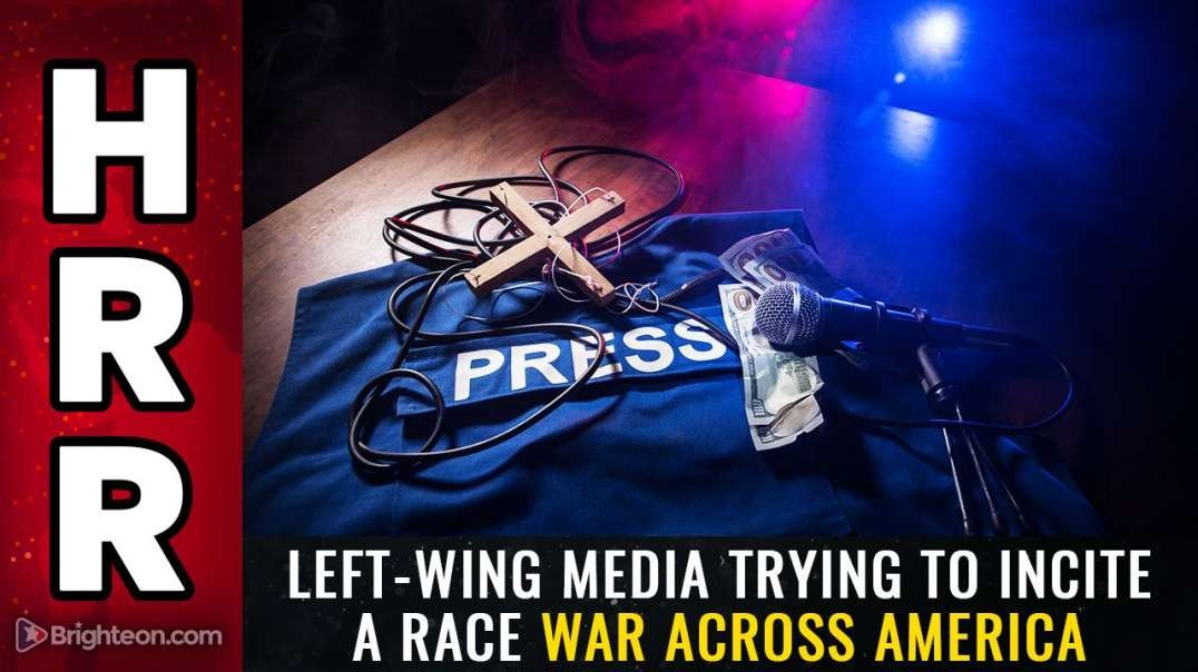 LEFT-WING MEDIA TRYING TO INCITE A RACE WAR ACROSS AMERICA [2021-03-31] - MIKE ADAMS (VIDEO)