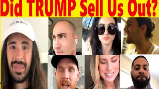 Did Trump Sell Us Out? Dozens Of Trump Supporters Call In To An0maly Live-Stream To Discuss!