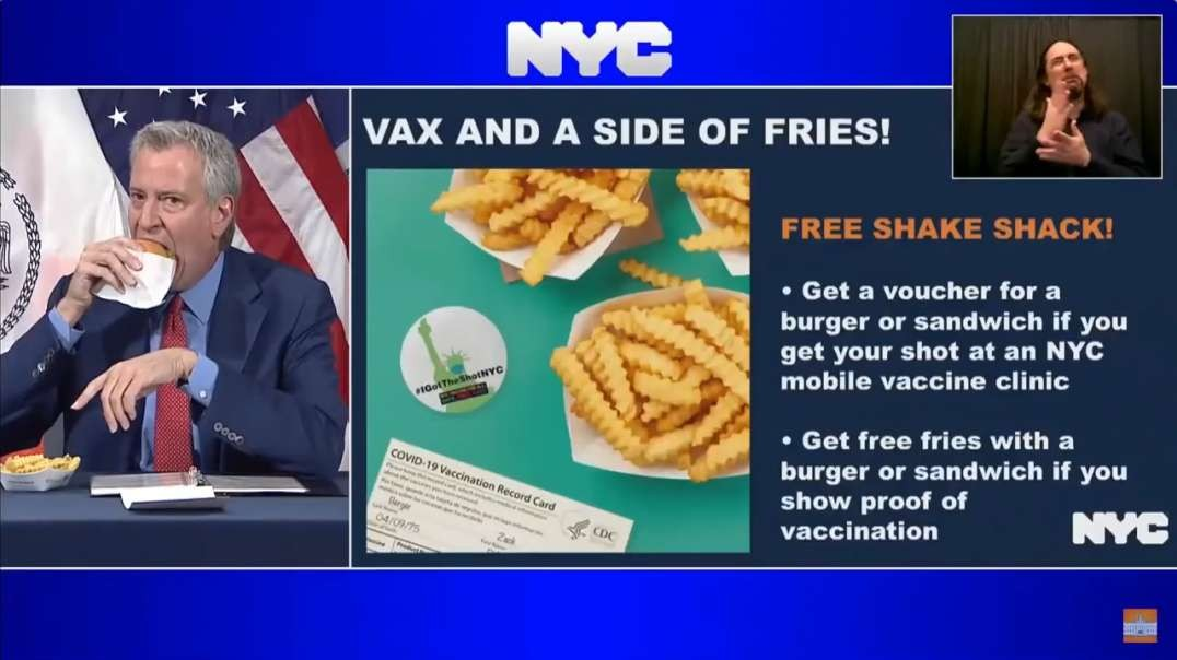 VAX AND A SIDE OF FRIES .. Are You Kidding Me