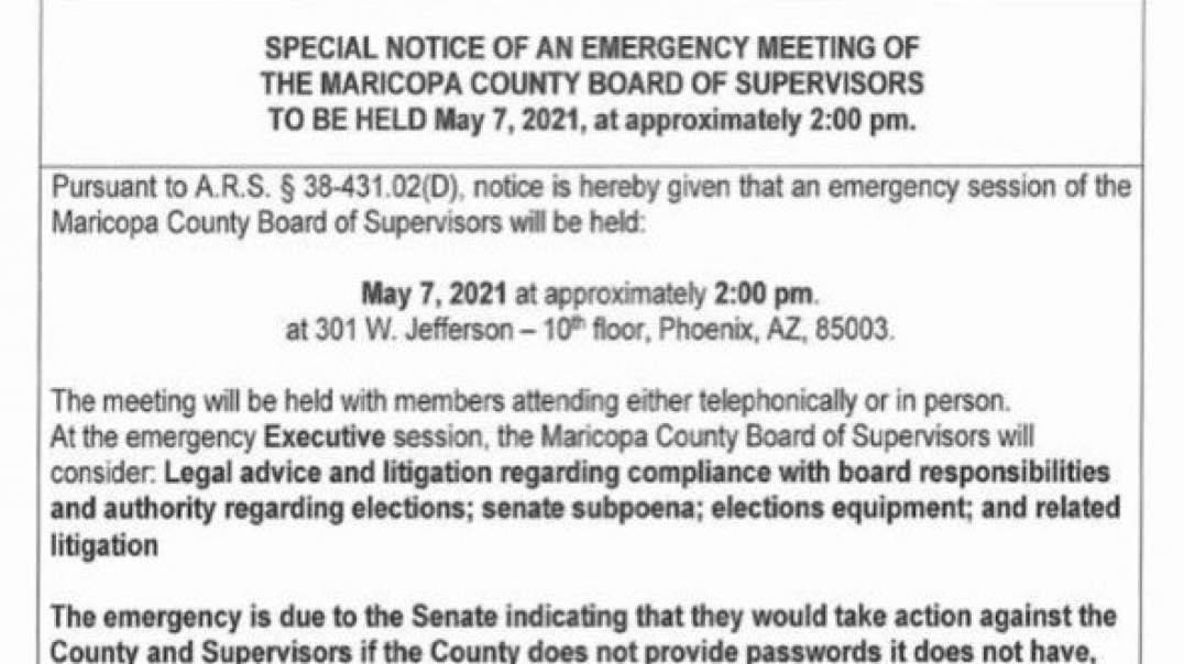 AZ senate threatens subpoena, Oil Pipeline hacked, China Military and Covid