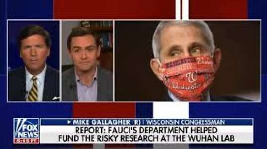 Mike Gallagher speaks with Tucker Carlson on the Wuhan Lab-Leak Hypothesis