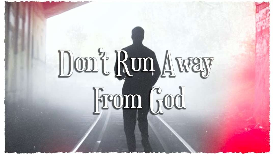 IT IS FINISHED Presents: Don't Run Away From God Ft. Ralph Yankee Arnold