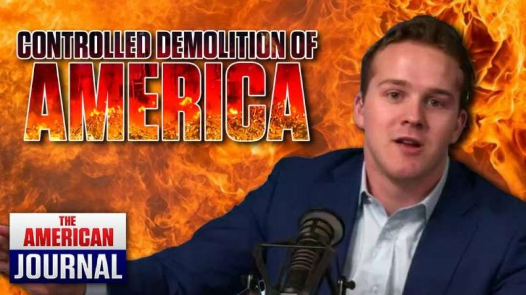 Rex Jones Rages At Controlled Demolition of America